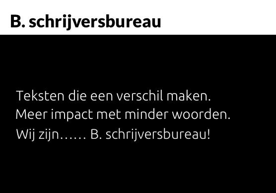 www.Bpunt.nl